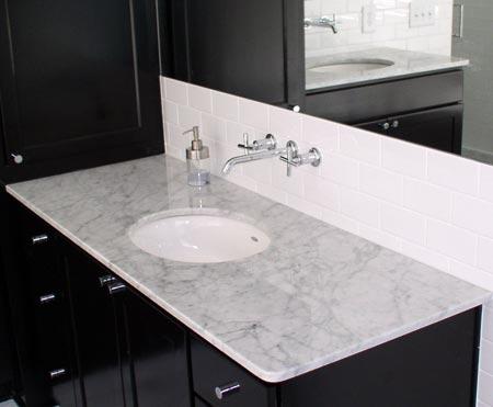 The granite shop atlanta 39 s premier custom stone fabricator for Custom marble bathroom vanity tops